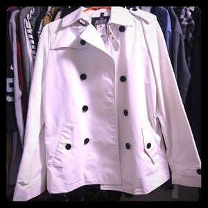 Express White Peacoat - NEVER BEEN WORN